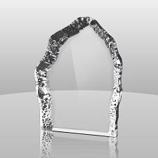 Clear Free-Standing Iceberg - Available in 3 Sizes - $50 - $58 - $68