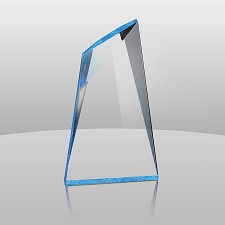 Blue Summit Acrylic Award - 3 Sizes - $51 - $65 - $82