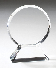 Multi-Faceted Edged Crystal Award - 3 Sizes -  $42 - $55 - $82