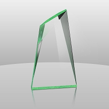 Green Summit Acrylic Award - 3 Sizes - $51 - $65 - $82