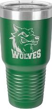 Personalized 30-oz Polar Camel Tumbler - Green
