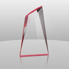 Red Summit Acrylic Award - 3 Sizes - $51 - $65 - $82