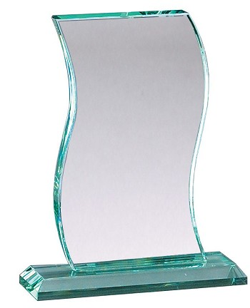 Wave Series Glass Award - 3 Sizes - $75 - $80 - $85