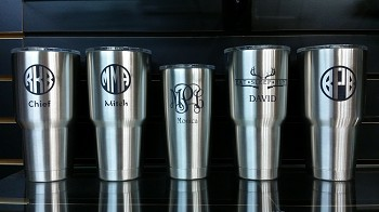 Personalization of Your Provided Tumbler