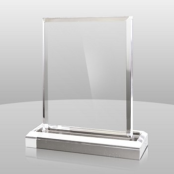Clear Vertical Rectangle Series - 3 Sizes - $25 - $33 - $40