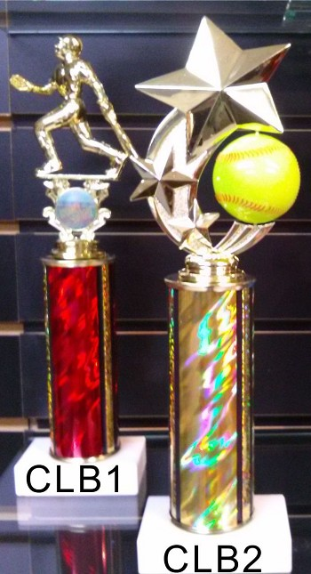 "10"" Clearance Baseball Trophies"